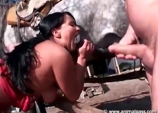 Fantastic fuck-fest with a zoophile couple